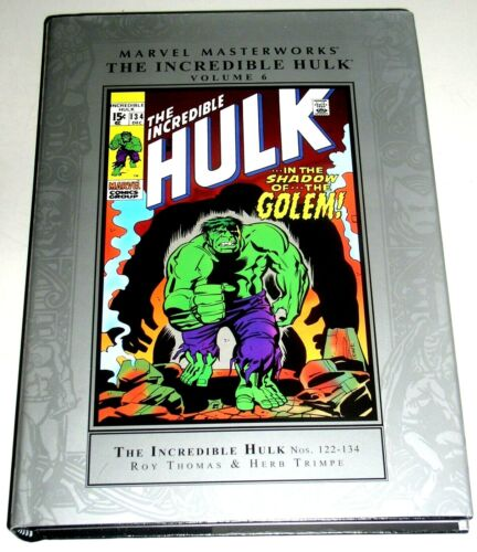 Marvel Masterworks THE INCREDIBLE HULK VOL 6 - RETAIL WAS $59.95