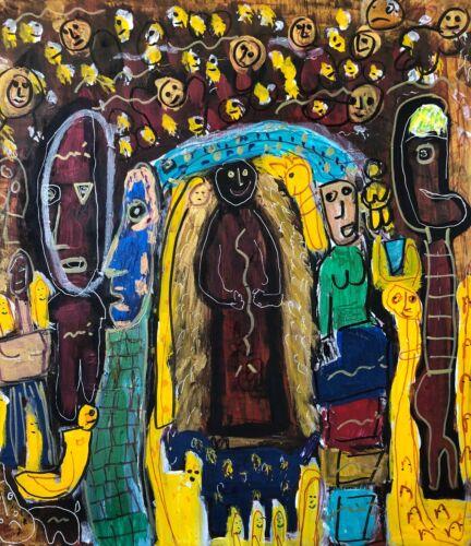 Outsider Art - Raw, Primitive, Brut -  Voodoo Queen & Her Ancestors