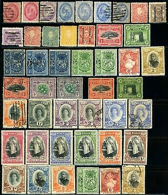 TONGA Islands Early Postage British Commonwealth Stamp Collection Used Mint LH