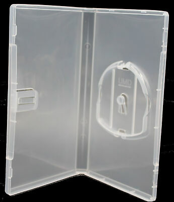 New Sony PSP Clear Replacement Storage Shell Box 15mm Video Game Cases