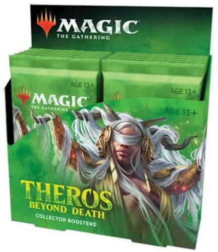 Sealed Theros Beyond Death Collector Booster Box - 12 Packs - MTG Magic Cards