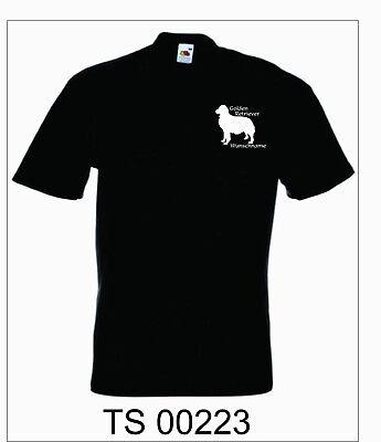 T- Shirt mit Motiv, Hundefreund, Golden Retriever, Wunschname,