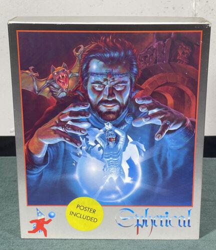 Computer Games - Commodore Amiga Spherical PC Computer Video Game w/ Manual & Box