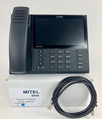 Mitel Mivoice 6940 Gigabit Ip Phone 50006770 - With Wireless Handset Refurbished