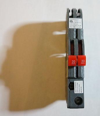 Ub Inc Ubiz-0220 Ubiz0220 20 Amp Two Pole Thin Zinsco Rc3820 Circuit Breaker New