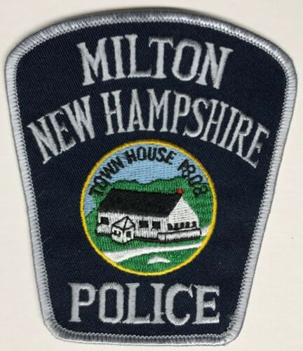 P404  MILTON,  N.H.   POLICE DEPARTMENT    PATCH,