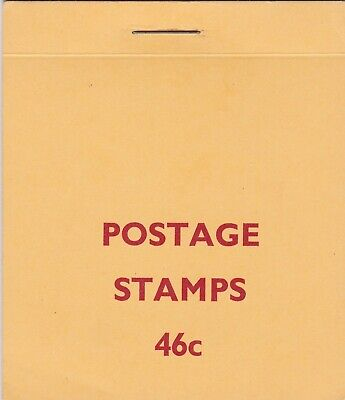 Rhodesia: 1970, 46c Booklet: Sheet C type panes, MNH