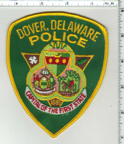 Dover Police (Delaware) 2nd Issue Shoulder Patch