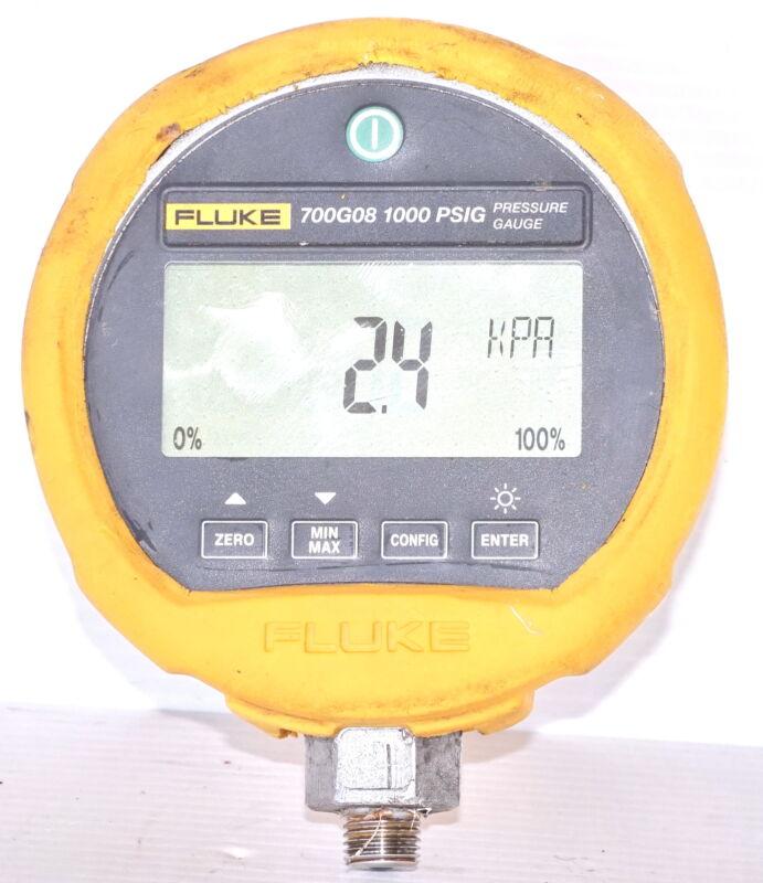 Fluke 700G08 Precision 1000psi Digital Pressure Calibration Gauge