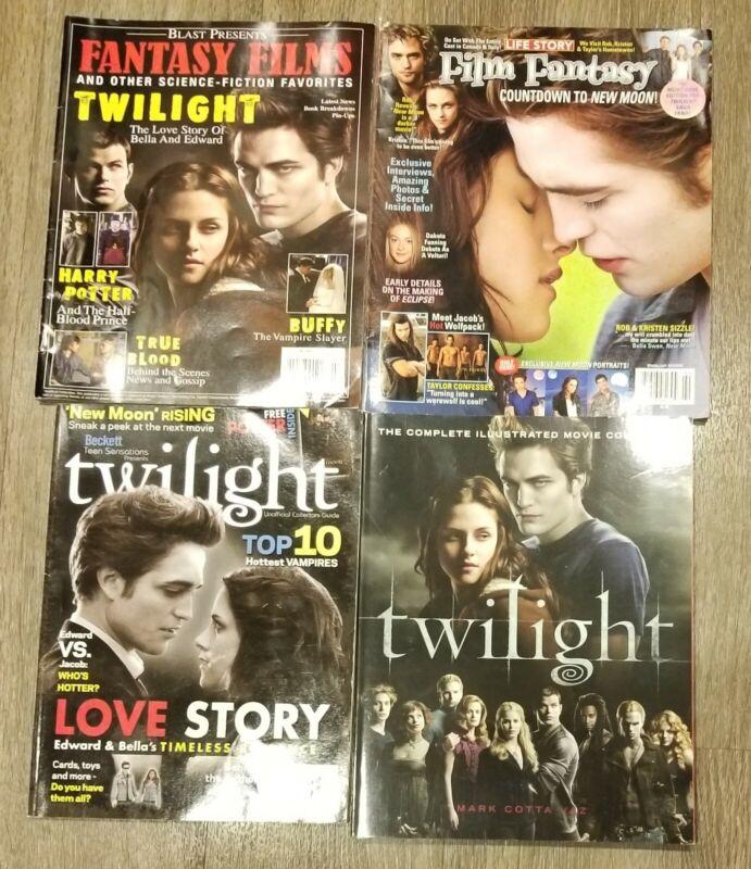 4 Twilight Saga Movie Magazines Film Fantasy, Beckett Presents, Movie Companion