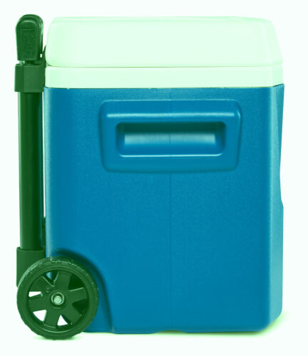 Igloo 16-Quart Laguna Roller Ice Chest Cooler with Wheels - Blue