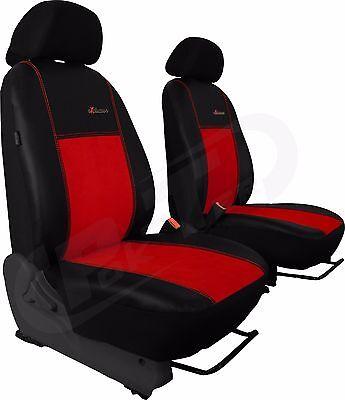 Universal Autositzbezüge Beige für Citroen Jumper II Bus 1+1 Schonbezüge Vorne