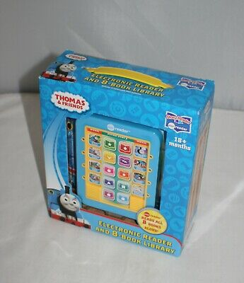 Thomas & Friends Electronic Reader & 8-Book Library, Hardcover 18+M ~ NIB