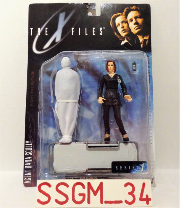 NEW The X-Files: Fight the Future Dana Scully - McFarlane Ultra Action Figures