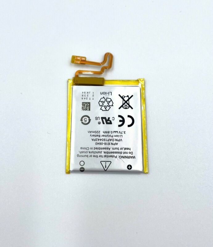 Replacement Battery for Apple iPod Nano 7th Generation A1446 16GB 616-0640