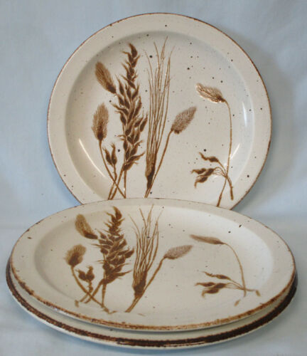 Midwinter by Wedgwood Wild Oats Lunch Plate Set of 3