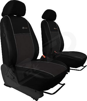 Für Mercedes SPRINTER ab 2006 paßgenaue Sitzbezüge ALKANTRA-Sitzflächen