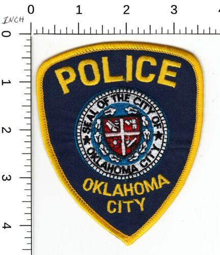 OKLAHOMA CITY POLICE SHOULDER PATCH OK