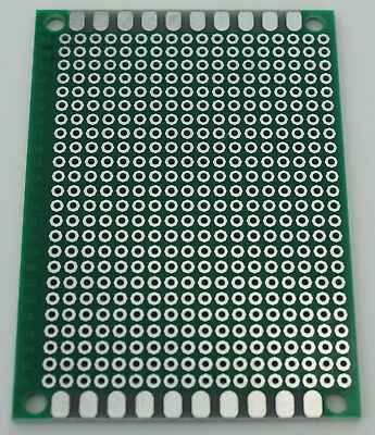 2 Pcs Single Sided Universal Pcb Proto Prototype Perf Board Fr-4 57 5x7 Cm