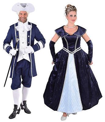 Rokoko Kleid Kostüm Gothic Barock Marquisin Prinzessin Rokokokostüm Marquis - Gothic Prinzessin Kostüm