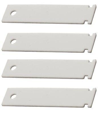 Dryer Bearing Slide - (4 PACK) WE1M1067 Dryer Bearing Slide for GE - NEW