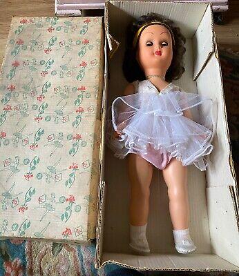 Vintage 1950S  Hard Plastic Doll