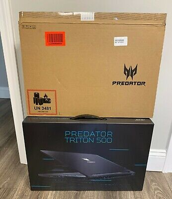 New in Sealed Box - Acer Predator Triton 500 Laptop Ci7/16G/512GB/RTX2060/W10PRO
