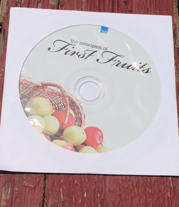 Paula White First Fruits CD New