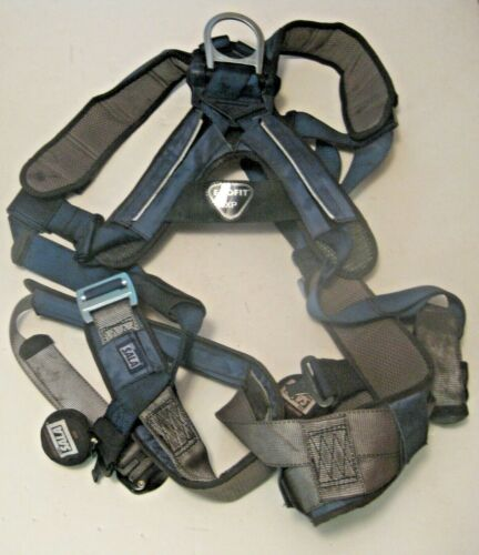 DBI SALA EXOFIT XP SAFETY CLIMBING POSITIONING XL HARNESS ~ USED ONLY 1 WEEK !