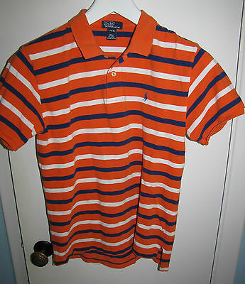 Polo by Ralph Lauren Short Sleeve Polo Shirt Youth Size Large (16-18)