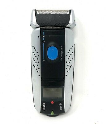 Braun Syncro System 7570 Cordless Rechargeable Men's Electric Shaver 7526 7570 Braun Syncro Shaver System