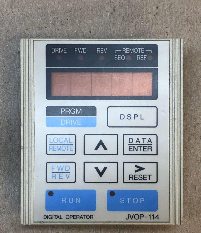 YASKAWA Display ELECTRIC JVOP-114 KEYPAD OPERATOR Digital Key Pad JVOP114 HMI