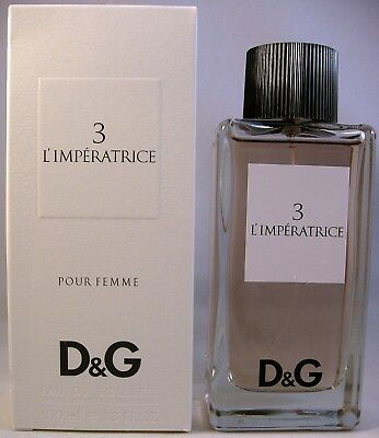 DOLCE & GABBANA  3 L'IMPERATRICE Eau de Toilette Spray 100 ml