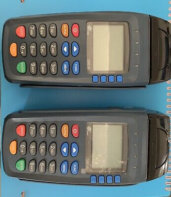 2 Pax S90 Wireless Credit Card Terminal Slightly Used.