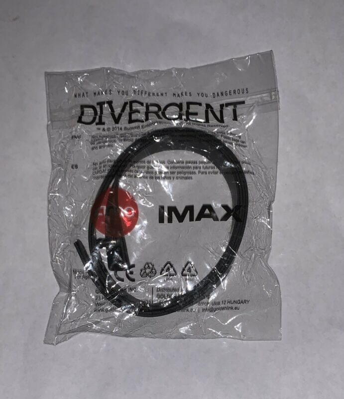 Divergent AMC IMAX Movie Bracelet Set 4 Piece New In Package