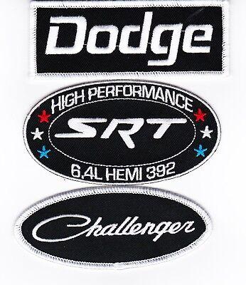 Dodge SRT 392 Black License Plate Frame Charger 6.4L Hemi Challenger