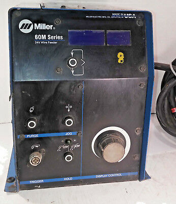 1 Used Miller S-64m Wire Feeder 24v Make Offer