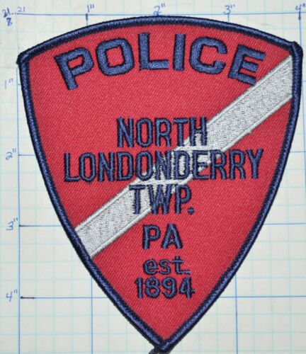 PENNSYLVANIA, NORTH LONDONDERRY TOWNSHIP  POLICE DEPT PATCH