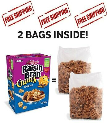 Kellogg's Original Raisin Bran Crunch Breakfast Cereal (42 oz.)