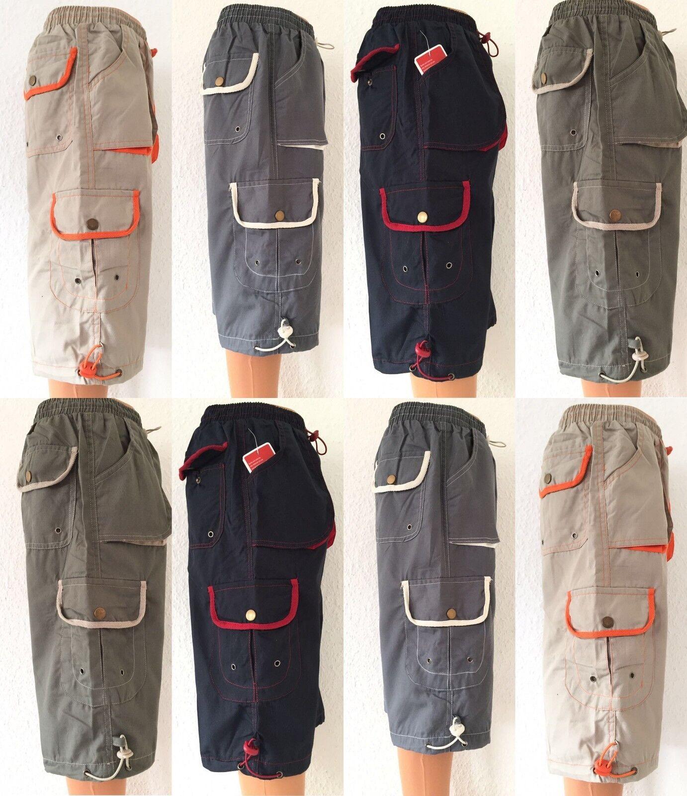 Kinder Jungen 3/4 kurze Hose Bermuda Shorts, Caprihose, Sommerhose   Gr.128-158