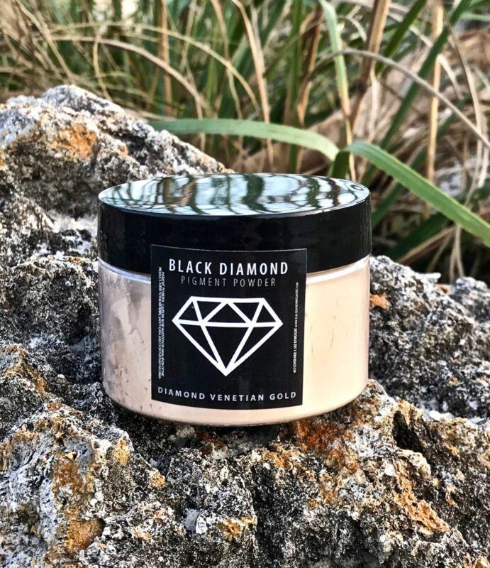 BLACK DIAMOND 42g/1.5oz Mica Powder Pigment - Diamond Venetian Gold