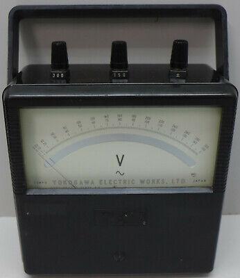 Yokogawa Ac Volt Meter Model 2013 Tested And Working