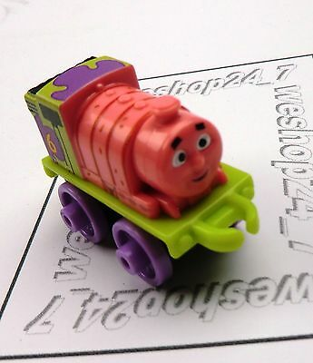 THOMAS & FRIENDS Minis Train Engine 2016 SPONGEBOB Percy Patrick ~ Weighted