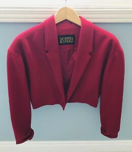 Vintage Norma Kamali Bolero jacket (s/m)