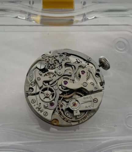Valjoux 222 Movement RARE To Find Flyback Airain Breguet Mathey Tissot Complete