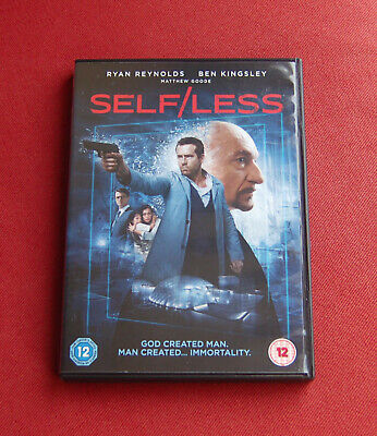Self / Less - Region 2 DVD - Ryan Reynolds, Ben Kingsley, Matthew Goode Selfless
