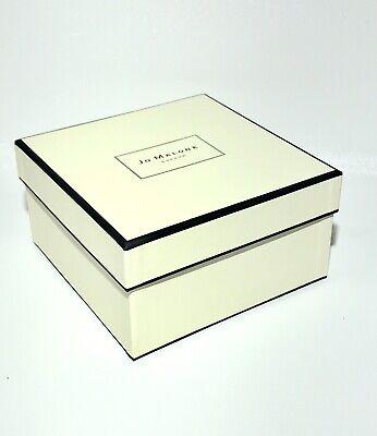 "Jo Malone Empty Square Gift Box Medium 6""x6""x3.5"" New"