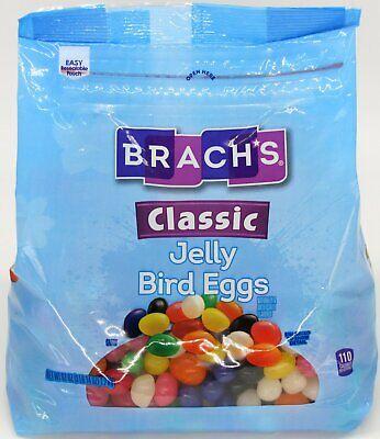 Brach's Classic Jelly Bird Eggs Jelly Beans Candy 62 oz Bag Easter Over 3.8 LB Brachs Jelly Beans