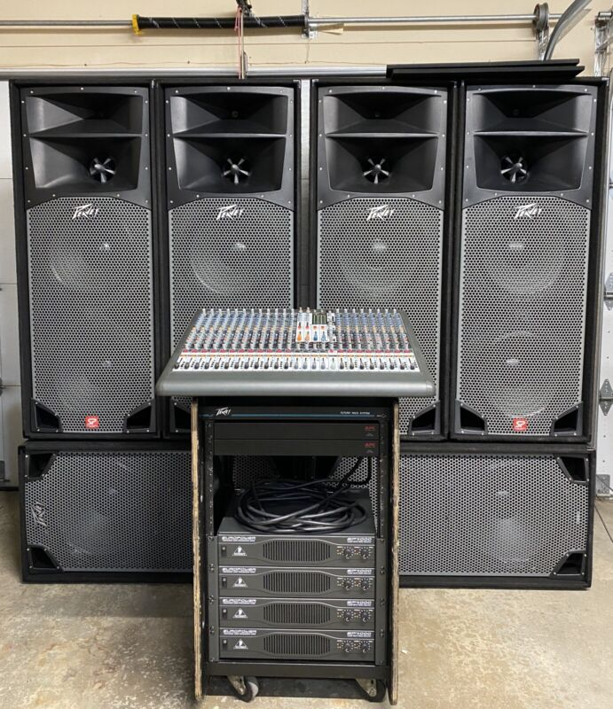 Peavey & Behringer Band Sound/PA System