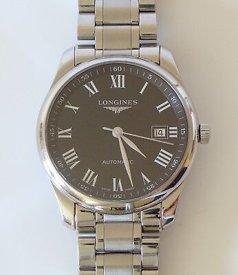 Longines L2.793.4 Master Collection 40 mm Automatic Swiss Made Wrist Watch